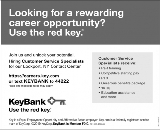Looking For A New Rewarding Career Opportunity?
