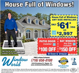 House Full Of Windows!