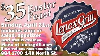 $35 Easter Feast