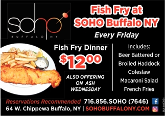 Fish Fry At Soho
