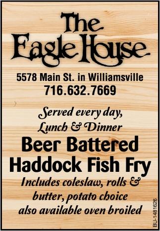 Beer Battered Haddock Fish Fry