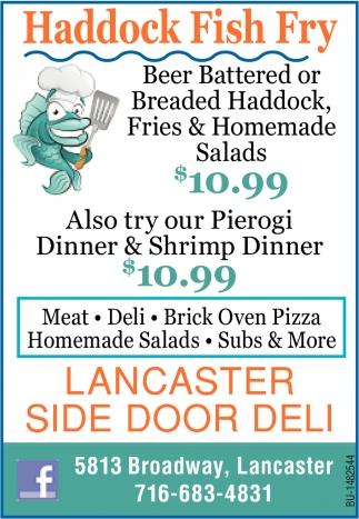 Haddock Fish Fry