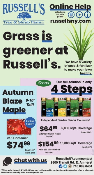 Grass Is Greener At Russell's