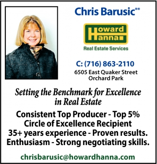 Setting The Benchmark For Excellence In Real Estate!