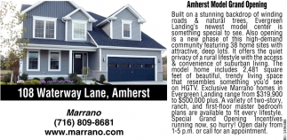 Amherst Model Grand Opening