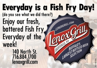 Everyday Is A Fish Fry Day!
