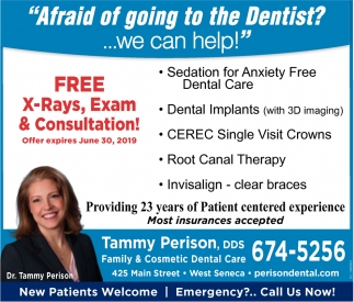 No Need To Fear Dental Visits