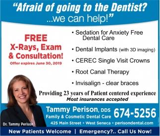 No Need To Fear Dental Visits