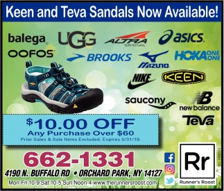 Keen And Teva Sandals Now Available!