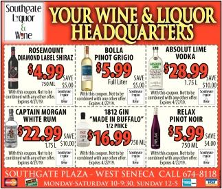 Your Wine & Liquor Headquarters