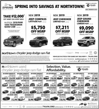 Spring Into Savings