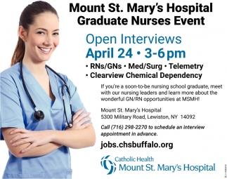 Graduate Nurses Event