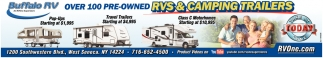RVs & Camping Trailers