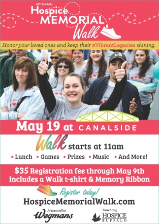 23rd Annual Hospice Memorial Walk