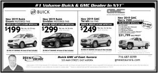 Warsaw Buick Gmc >> New 2019 Buick , West Herr East Aurora, East Aurora, NY