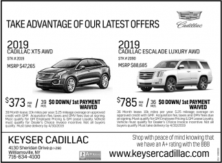 Take Advantage Of Our Latest Offers