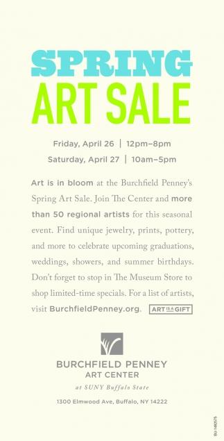 Spring Art Sale