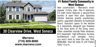 #1 Rated Family Community In West Seneca