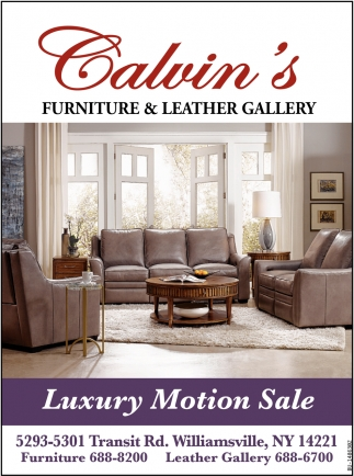 Luxury Motion Sale Calvin S Furniture Leather Gallery Buffalo Ny
