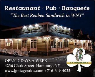 The Best Reuben Sandwich In WNY