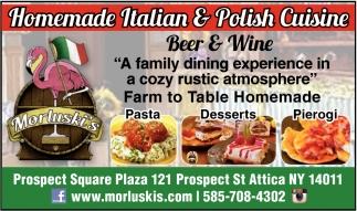 Homade Italian & Polish Cuisine