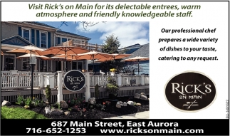 Visit Rick's On Main!