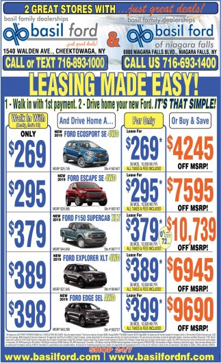 Leasing Made Easy!