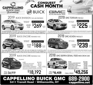 Conquest Cash Month