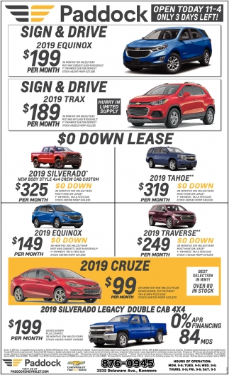 East Syracuse Chevrolet >> Sing & Drive , Paddock Chevrolet, Buffalo, NY