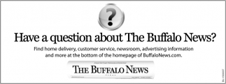 Have A Question About The Buffalo News?