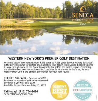 Western New York's Premier Golf Destination