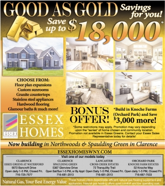 Good asGold Savings for You!