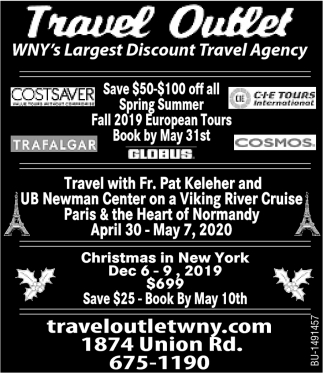 WNY's Largest Discount Travel Agency