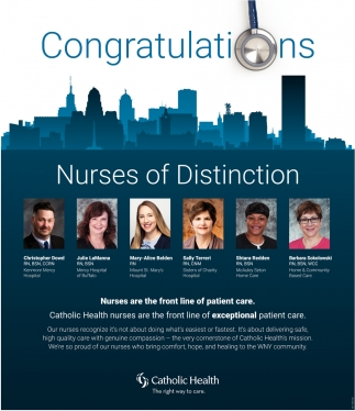 Nurses of Distinction