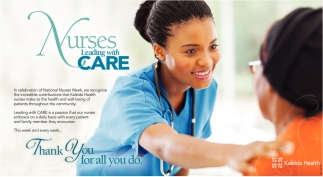 Nurses Leading with Care