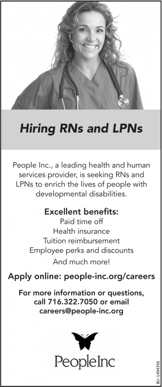 Hiring RNs and LPNs
