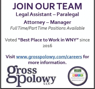 Legal Assistant, Paralegal, Attorney, Manager Jobs