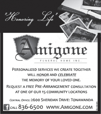 Personalized Funeral Services