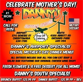 Danny's Airport Specials!