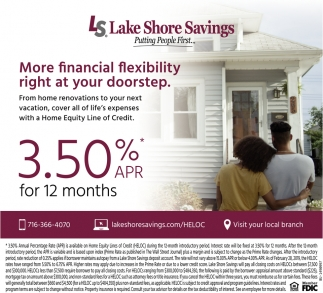 More Financial Flexibility Right at Your Doorstep
