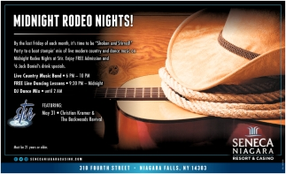Midnight Rodeo Nights!