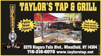 Patio Now Open