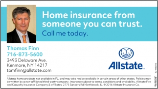 Home Insurance From Someone You Can Trust