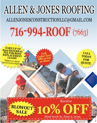 Call Today for Quote