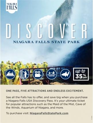 Discover Niagara Falls State Park