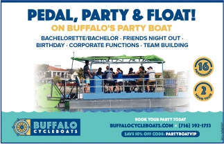 Pedal, Party & Float!