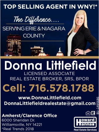 Top Selling Agent in WNY!