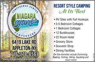 Resort Style Camping