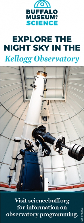 Explore the Night Sky in the Kellogg Observatory
