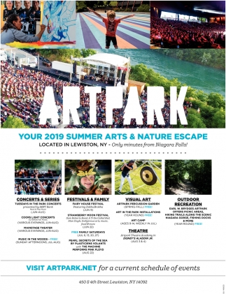 Your Summer Arts & Nature Escape